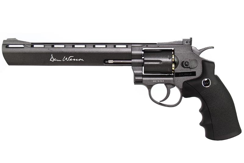 "DAN WESSON 8\"" Revolver Gris CO2"
