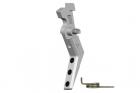 Détente aluminium CNC pour M4 Style A Silver Maxx Model