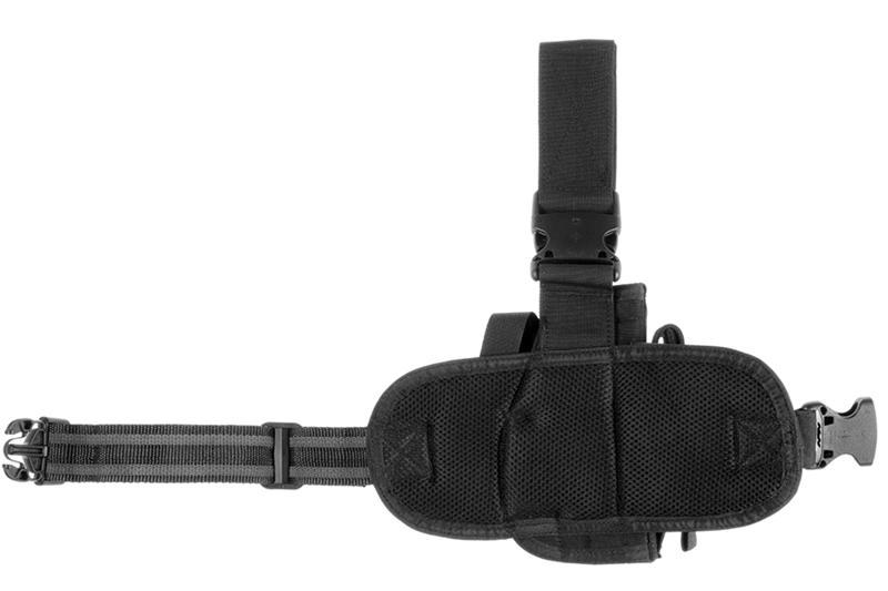 Dropleg Holster Left Black Invader Gear