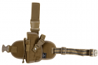 Dropleg Holster Left Coyote Invader Gear