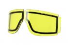 Ecran jaune pour masque TAIPAN SKYAIRSOFT