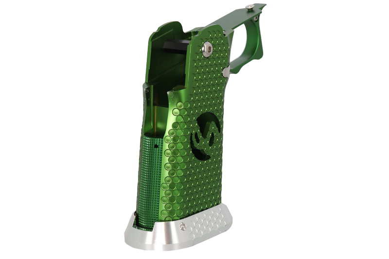 "EDGE Custom \""INF\"" Aluminum Grip - Green"