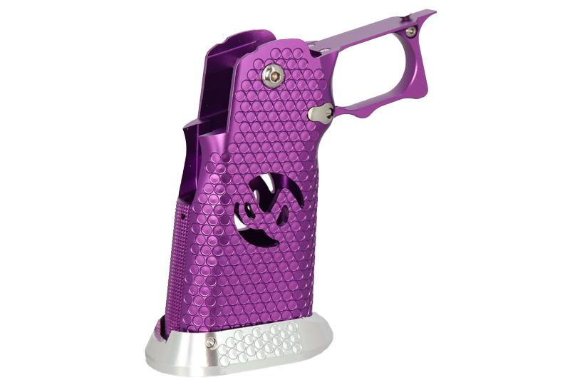 """EDGE Custom \""""INF\"""" Aluminum Grip - Purple"""