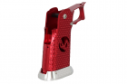"""EDGE Custom \""""INF\"""" Aluminum Grip - Red"""