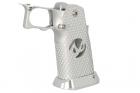 "EDGE Custom \""INF\"" Aluminum Grip - Silver"