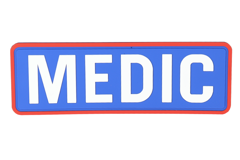 "EMERSON PVC""MEDIC\""Patch-1"