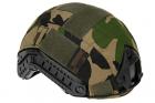 FAST Helmet Cover Invader Gear Woodland