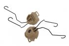 Fixation casque Z-Tac MSA DE FMA