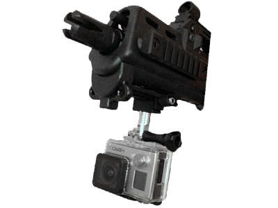 Fixation Gopro STS pour rail Picatinny