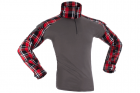 Flannel Combat Shirt Invader Gear Rouge