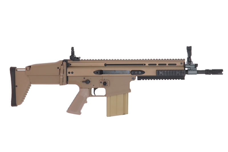 FN Scar-H CQC TAN AEG
