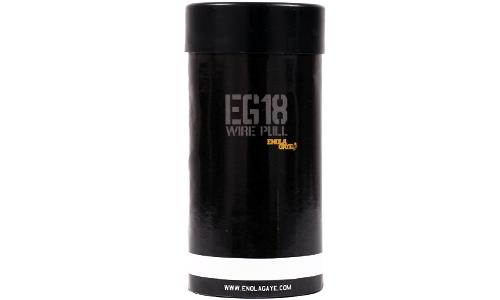 Grenade fumigène Blanc EG18 Enola Gaye pour l'airsoft et situations réelles.