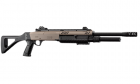 """Réplique airsoft fusil à pompe FABARM STF/12-18"""" FDE Spring BO-Manufacture"""