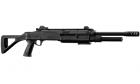 """Réplique airsoft Fusil à pompe FABARM STF/12-18"""" Noir Spring BO-Manufacture"""