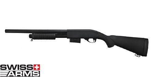 Fusil à pompe Full Stock Métal SWISS ARMS
