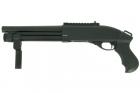 Réplique fusil à pompe VELITES G-II Noir SECUTOR Gaz idéal pour la pratique de l'airsoft