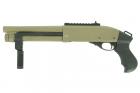 Réplique fusil à pompe VELITES G-II Tan SECUTOR Gaz idéal pour l'airsoft