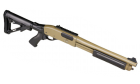 Fusil à pompe airsoft 3 et 6 coups VELITES G-III Tan SECUTOR Gaz