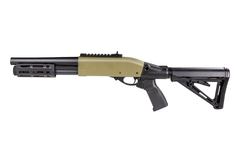 Fusil à pompe VELITES Invicta G-III Tan SECUTOR Gaz