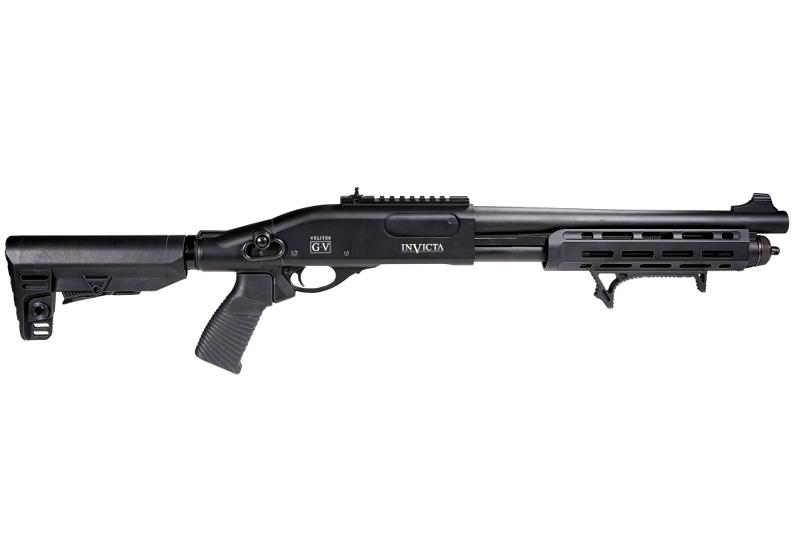 Fusil à pompe VELITES Invicta G-V SECUTOR Gaz