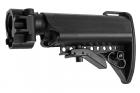G&P Battery Carry Folding Stock (Crane) For Tokyo Marui & G&P M4 / M16 Metal AEG Series