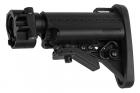 G&P Battery Carry Folding Stock (Stubby) For Tokyo Marui & G&P M4 / M16 Metal AEG Series