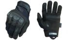 Gants M-Pact 3 Coqués Noir Mechanix pour l'airsoft et les forces d'intervention