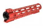 "Garde main M-LOK free floating 10,5\"" rouge Lancer Tactical"