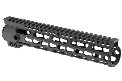 """Garde Main MI Keymod 9\"""" Noir pour M4/M16 AEG SHS"""