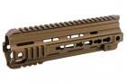"""Garde main type 416 9"""" Keymod Tan VFC pour réplique airsoft AEG et GBBR"""