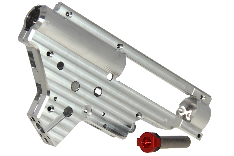 Gearbox SR25 CNC 8mm QSC Silver Retro Arms