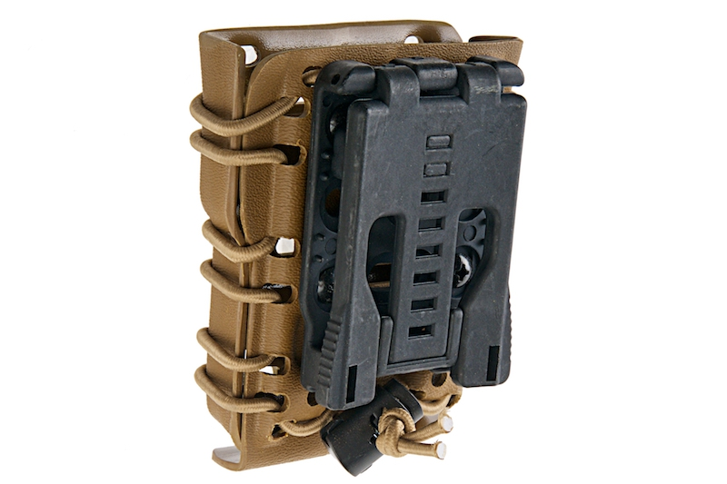 GK Tactical 0305 Kydex Single Stack 556 Magazine Carrier - Coyote Brown