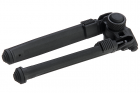 GK Tactical MG Style Adjustable Polymer Bipod for M-Lok - Black