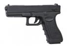 Réplique de poing airsoft électrique Glock 18C CYMA AEP avec batterie et chargeur de batterie