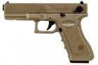 Glock 18C Tan CYMA (SAIGO DEFENSE) AEP