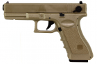 Glock 18C Tan CYMA (SAIGO DEFENSE) AEP