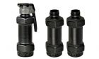 Grenade CO2 + 3 coques 120dB Thunder-B