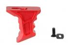 Grip Handstop hybrid CNC KEYMOD Rouge