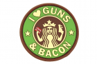 Guns and Bacon Rubber Patch Multicam