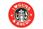 Guns and Bacon Rubber Patch