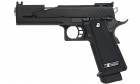 Réplique de poing airsoft GBB Hi-Capa 5.1 Black Dragon WE Gaz