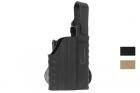 Holster rigide Glock + lampe Nuprol