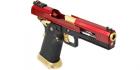 Réplique de poing airsoft GBB HX1004 Split Red ARMORER WORKS Gaz