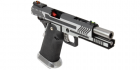 Réplique airsoft GBB HX1101 Full Silver ARMORER WORKS Gaz