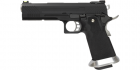 Réplique de poing airsoft GBB HX1102 Full Black ARMORER WORKS Gaz