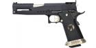 Réplique de poing airsoft GBB HX2201 IPSC Split Black ARMORER WORKS Gaz