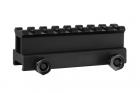 JS-TACTICAL 8 SLOT WEAVER RAIL 1 INCH RISER (JS-S16)