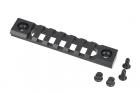 KeyMod 4 Inch Picatinny Rail Section Vector Optics