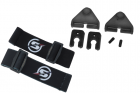 Kit attache sangle pour casque Black Skyairsoft