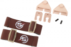 Kit attache sangle pour casque Coyote Skyairsoft